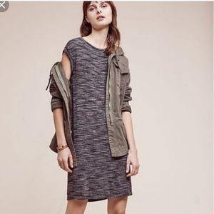 Cloth & Stone Melange Spacedye Grey Dress